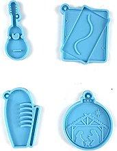 Dedepeng Stampo in silicone epossidico a forma di