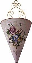 Dedepeng, vaso da fiori, romantico, in plastica,
