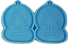 Deendeng Stampo in silicone per Natale, 1 pezzo/9
