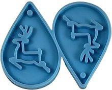 Deendeng - Stampo in silicone per orecchini di