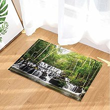 Deep Forest Natural Scenery - Tappetino da bagno a