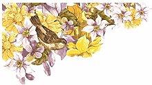 dekodino® Adesivo murale acquerello angolo dei