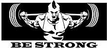 dekodino® Adesivo murale fitness atleta di forza
