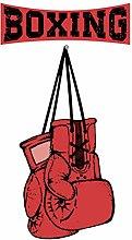 dekodino® Adesivo murale fitness guanti da boxer