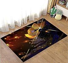 Demon Slayer decorazione stile interni tappetini