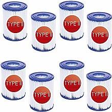 Denkmsd Cartuccia filtro per piscina tipo 2 per