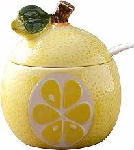 Design di frutta Bottiglie di condimento Con