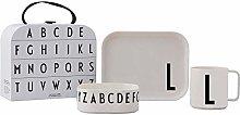 Design Letters 20201500L Scatola Regalo tritan