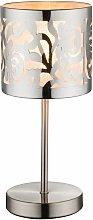 Design Tavolo di scrittura in acciaio lampada da