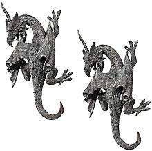 Design Toscano PD91376 Scultura da Parete Drago