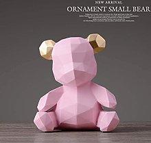 Desktop Sculpture Geometric Bear Beat Desktop