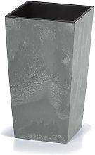 Deuba - Vaso per fiori Fioriera effetto cemento