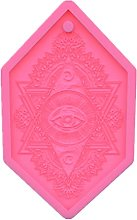 Devil's Eye Drop Tag - Stampo in silicone per