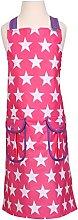 Dexam 16150334 Pink Star-Grembiule per Bambini in