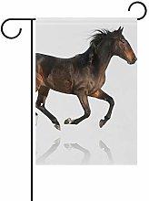 DEZIRO - Bandiera da Giardino con Cavalli su