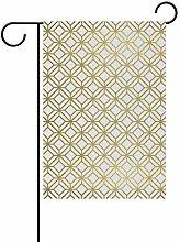 DEZIRO - Bandiera da Giardino con Motivo