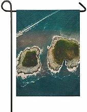 DEZIRO Bandiera da Giardino Isole del Mare su