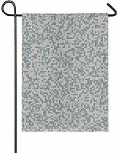 DEZIRO - Bandiera Mimetica da Giardino su Entrambi