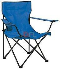DFL - Sedia spiaggia spiaggina blu cm52x52xh80