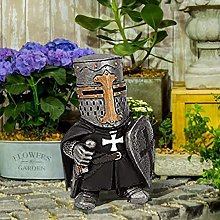 DHYED - Statua da cavaliere, per esterni, per