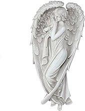 DHYED Statua decorativa da giardino, in resina,