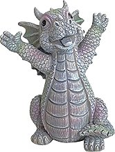 DHYED Statua decorativa da giardino, statuetta di