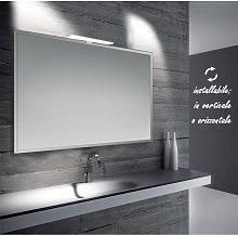 Diana - specchio reversibile da bagno con cornice