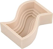 DierCosy Tools Candle Mold-3D Forma geometrica Wax