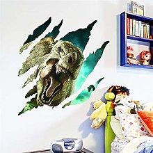 Dinosauri 3d attraverso adesivi murali per