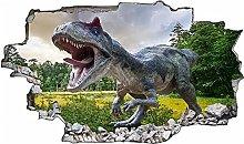 Dinosauro 3D Look Adesivo murale Apertura murale