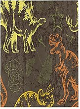 Dinosauro Astratto Colorato Bandiera del Giardino