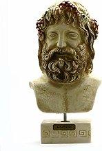 Dioniso Bacco Dio greco Busto Testa Statua