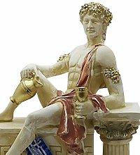 Dioniso Bacco Dio greco del vino Statua scultura