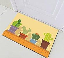 Dipinto in vaso cactus Decorazione Della Casa