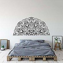 Disegno Astratto Half Mandala Decal Mandala