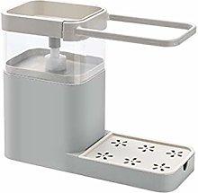 Dispenser di sapone da cucina 4 in 1 per sapone da