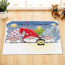 Divertente tappetino da bagno con Babbo Natale,