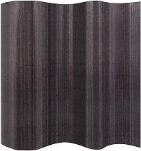 Divisorio per Stanza in Bambù Grigio 250x165 cm -