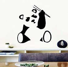 DIY Art Panda Cartoon Wall Sticker PVC Murale Art