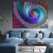 DIY Dipingere con i numeri Abstract fractal
