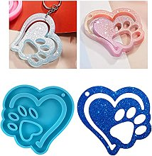 DIY Love Dog Artiglio Silicone Stampo Epoxy DIY