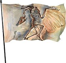 DJNGN Archaeopteryx Piano Cuscino Cortile Bandiera