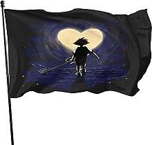 DJNGN Bandiera Attraverso la Luce Kingdom Hearts