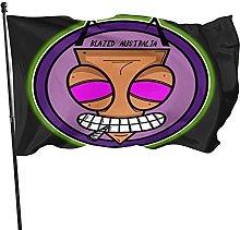 DJNGN Bandiera Blazing Invader Decorazioni Party