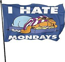 DJNGN Bandiera Garfield I Hate Mondays.