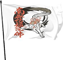 DJNGN Bandiera Inked Goddess Okami Decorazioni