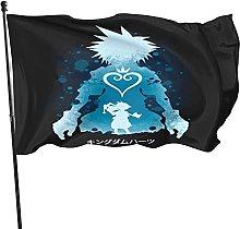 DJNGN Bandiera Kingdom Style Kingdom Hearts