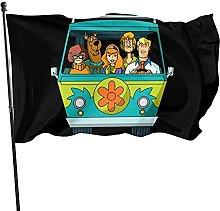 DJNGN Bandiera Scoobydoo 3x5 Ft per Decorazioni da