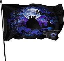 DJNGN Bandiera Silhouette Moontotoro Star Sky