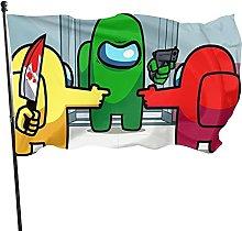 DJNGN Bandiera tra Noi 3x5 Piedi Banner bifacciale